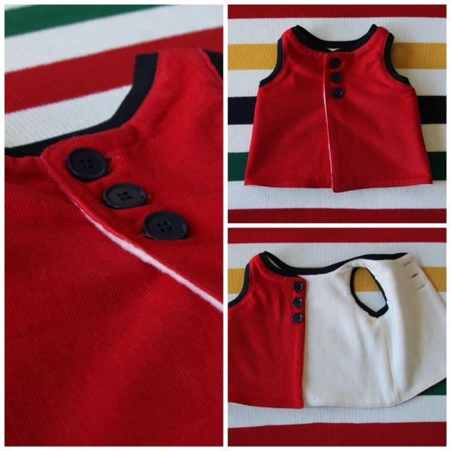 vest collage