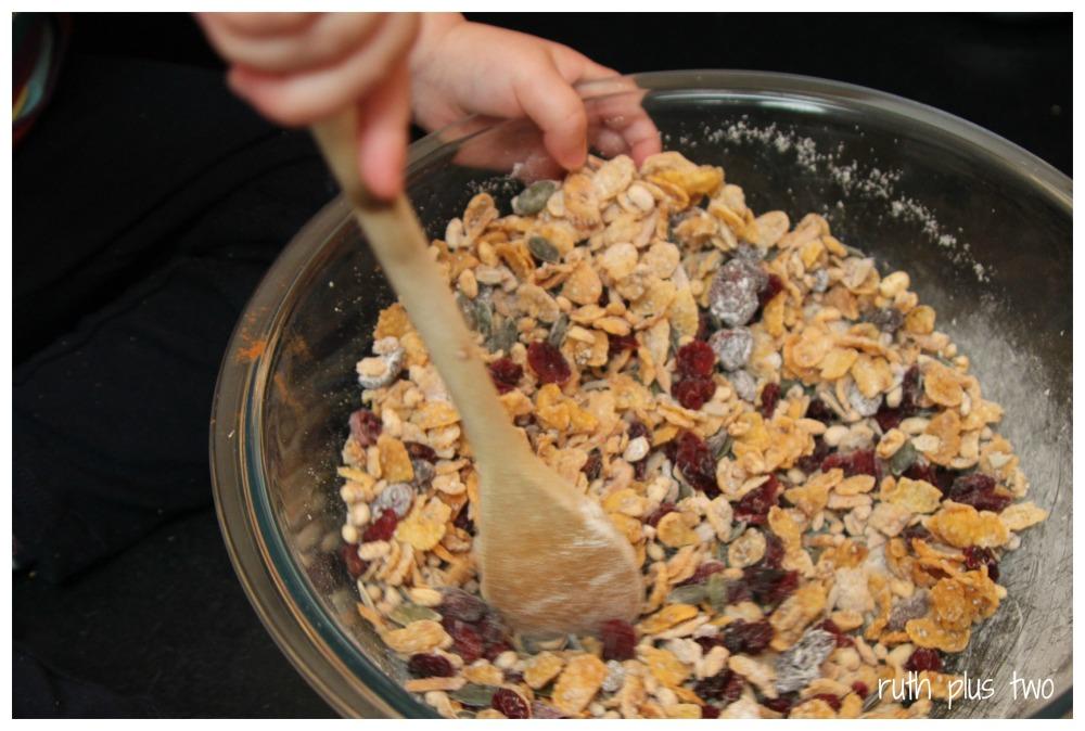 {Gluten-free & oat-free} muesli slice (1/4)