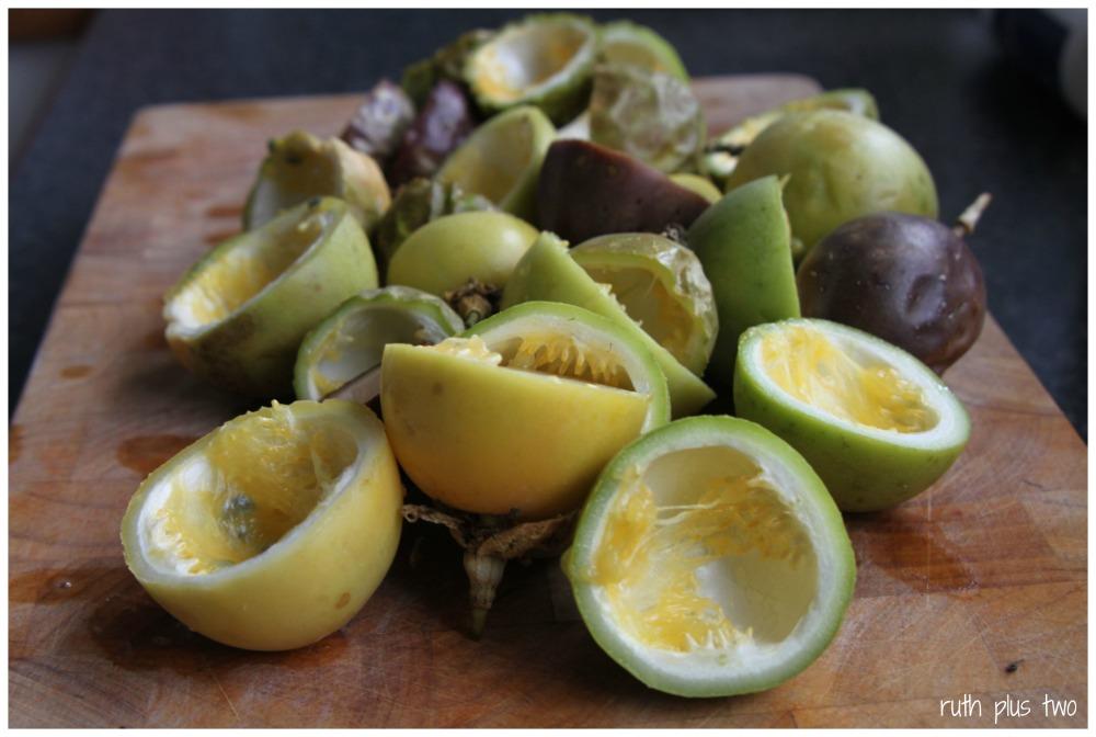 {Gluten-free} passionfruit curd tea cake (3/6)