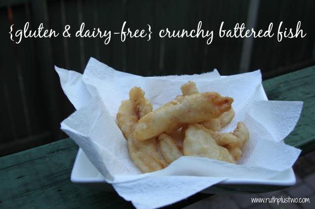 gluten free dairy free crunchy battered fish
