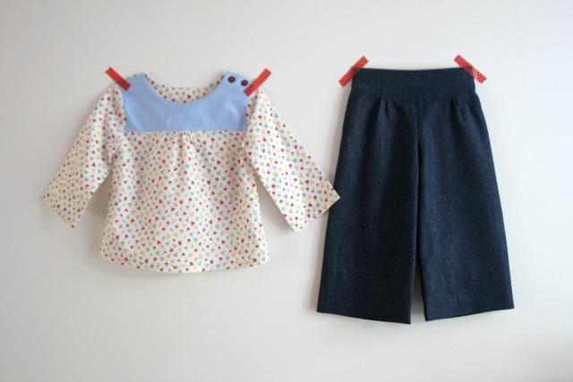set - top and pants