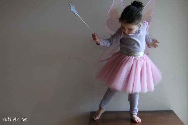tutu pointing toes