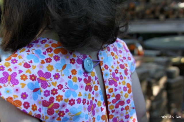 button closure first day dress made