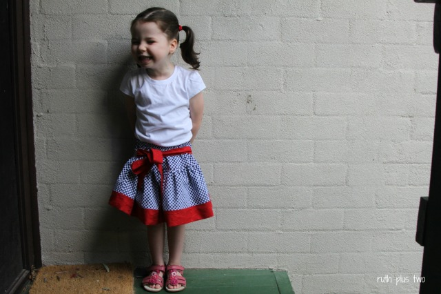 boo! designs twirly skirt