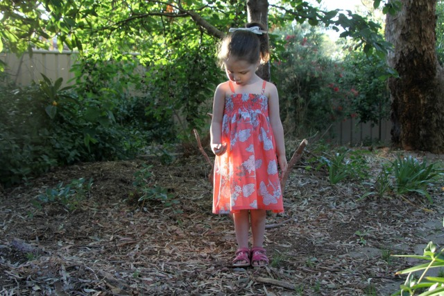 long coral shirred dress