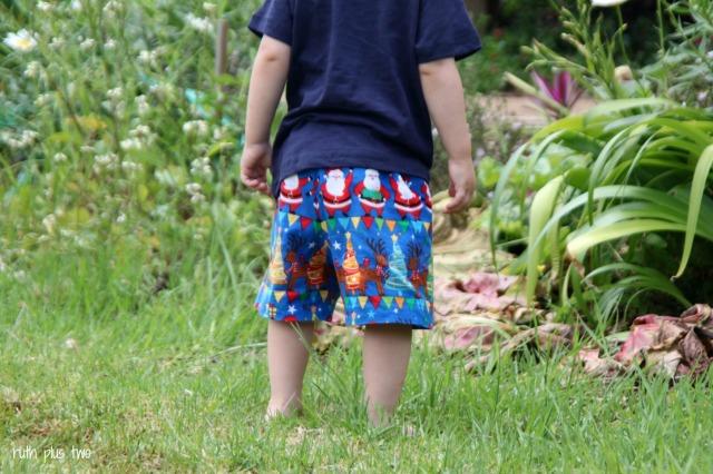 Christmas KID shorts